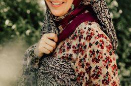 عکس های حدیث نیکرو در سریال خانواده دکتر ماهان